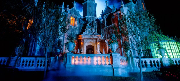 Haunted Mansion at Disney Magic Kingdom Park in Florida