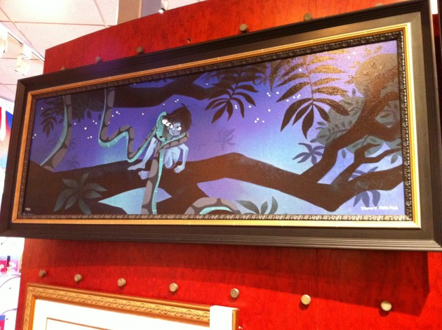 Jungle Book Painting at Disney's Epcot