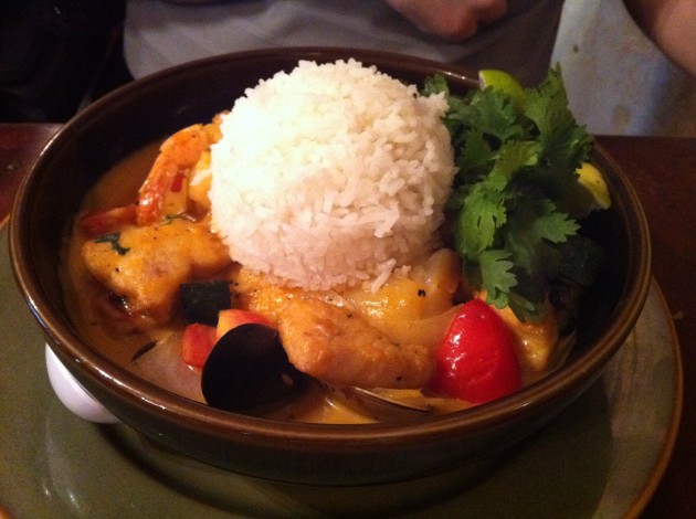 Malaysian Seafood Curry from Yak and Yeti