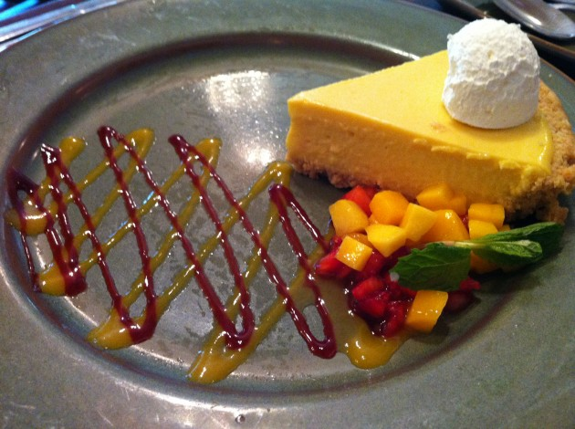 Mango Pie from Yak and Yeti