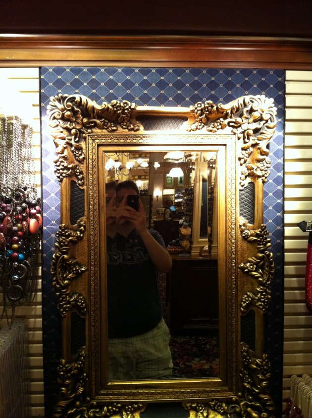 Mirror on Wall at Disney