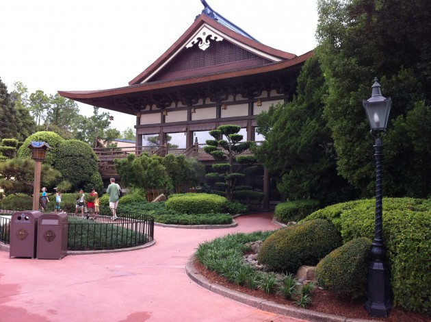 Another Cool Building in Japan at Epcot