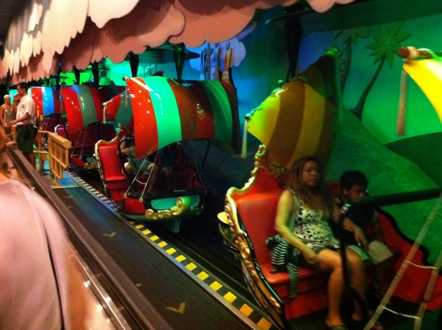 Peter Pan Ride at Walt Disney World