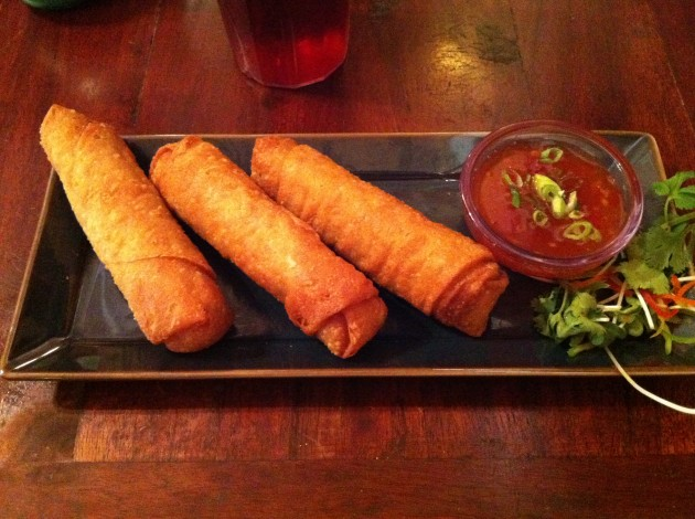 Pork egg Rolls from Yak and Yeti