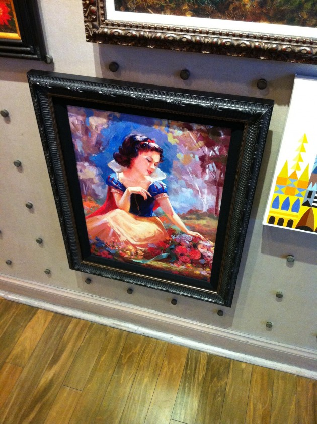 Snow White Disney Art