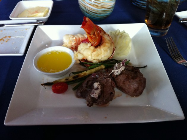 Surf and Turf Narcoossee's Restaurant