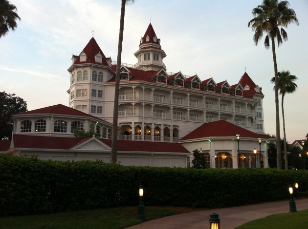 The Grand Floridian at Sunset Before Dinner