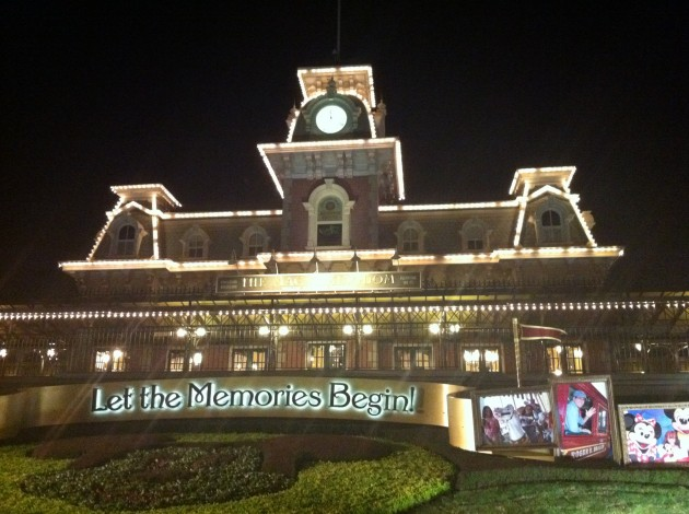 Train Depot at Walt Disney World