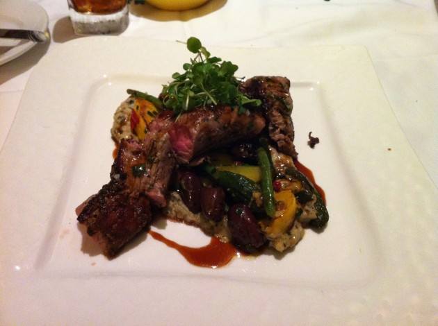 Veal at The California Grill