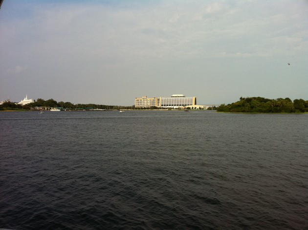 The Contemporary Resort at Walt Disney World as Seen from Narcoossee's Restaurant