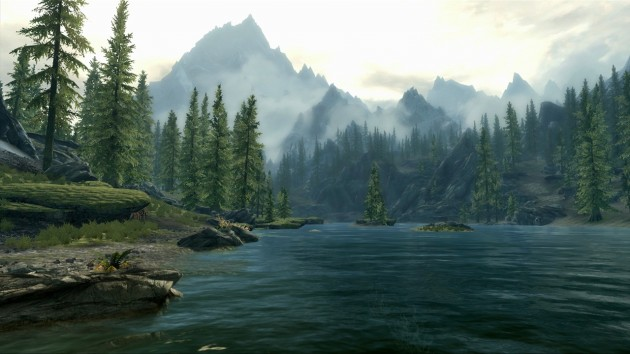 The Elder Scrolls V Skyrim Lake Vista