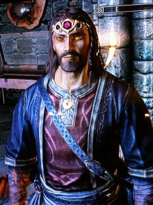Azrah Gestahl Joshua Kennon's Pure Skyrim Mage in Lord Ganon Enchanted Armor and Weapons