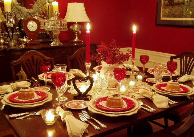 Susan's Valentine's Day Tablescape
