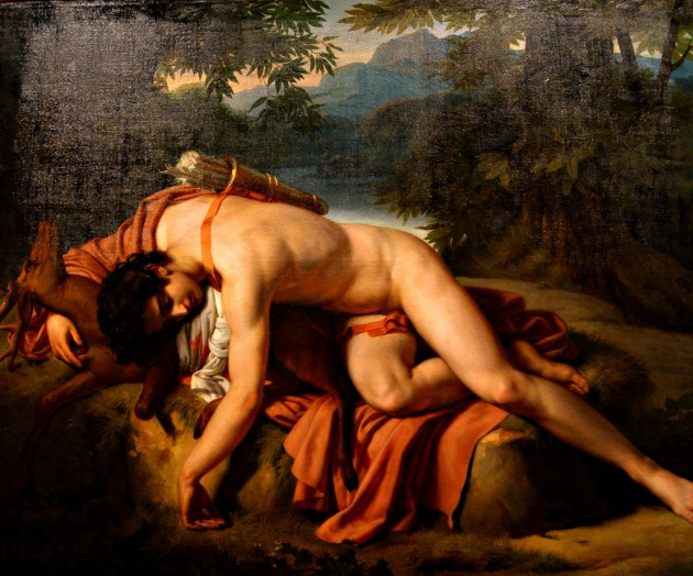 Cyparissus Mourning the Death of His Pet