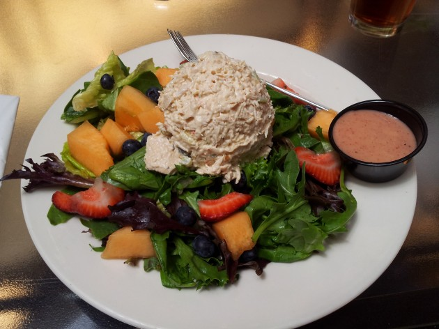 Chicken Salad Fruit Salad at Nelson Atkson Museum of Art in Kansas City