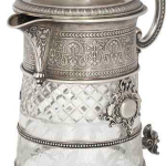 Christies Auction Silver Sailor Decanter