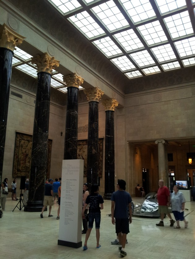 Columns at the Nelson Atkins Museum of Art