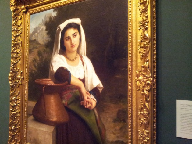 Italian Woman at the Fountain 1869 by Adolphe William Bouguereau