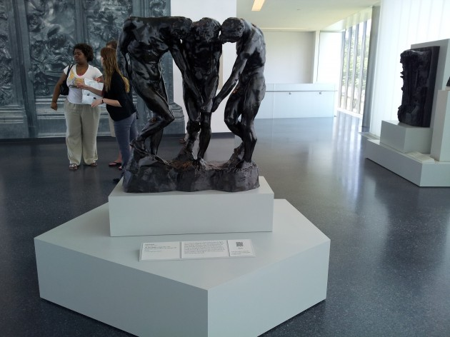 Rodin The Sages Outside the Gates of Hell Sculpture