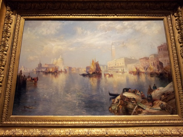 Thomas Moran Venice the Grand Canal with the Doge's Palace 1888 to 1889 Oil on Canvas