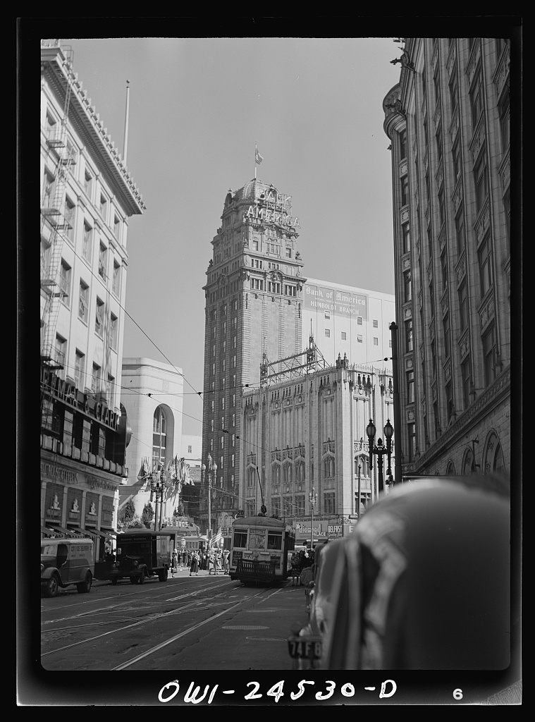 Bank of America San Francisco May 1943