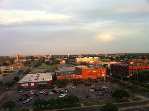 Small City in Texas from Hotel