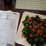 Value Line Investment Survey and Salad
