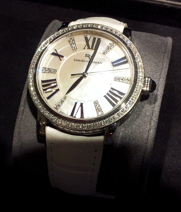 David Yurman White Diamond Watch at Tivol Jewelers