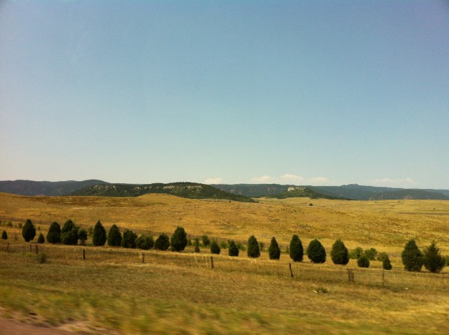 Drive from Denver to Santa Fe