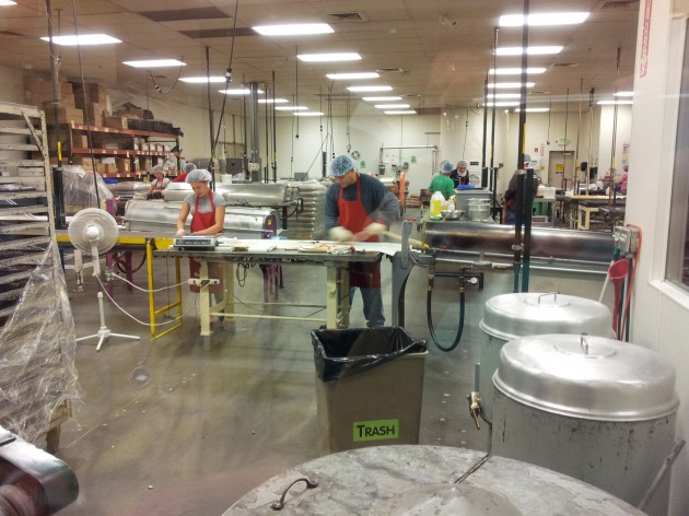 Hammond Candies Factory Tour Making Candy Canes