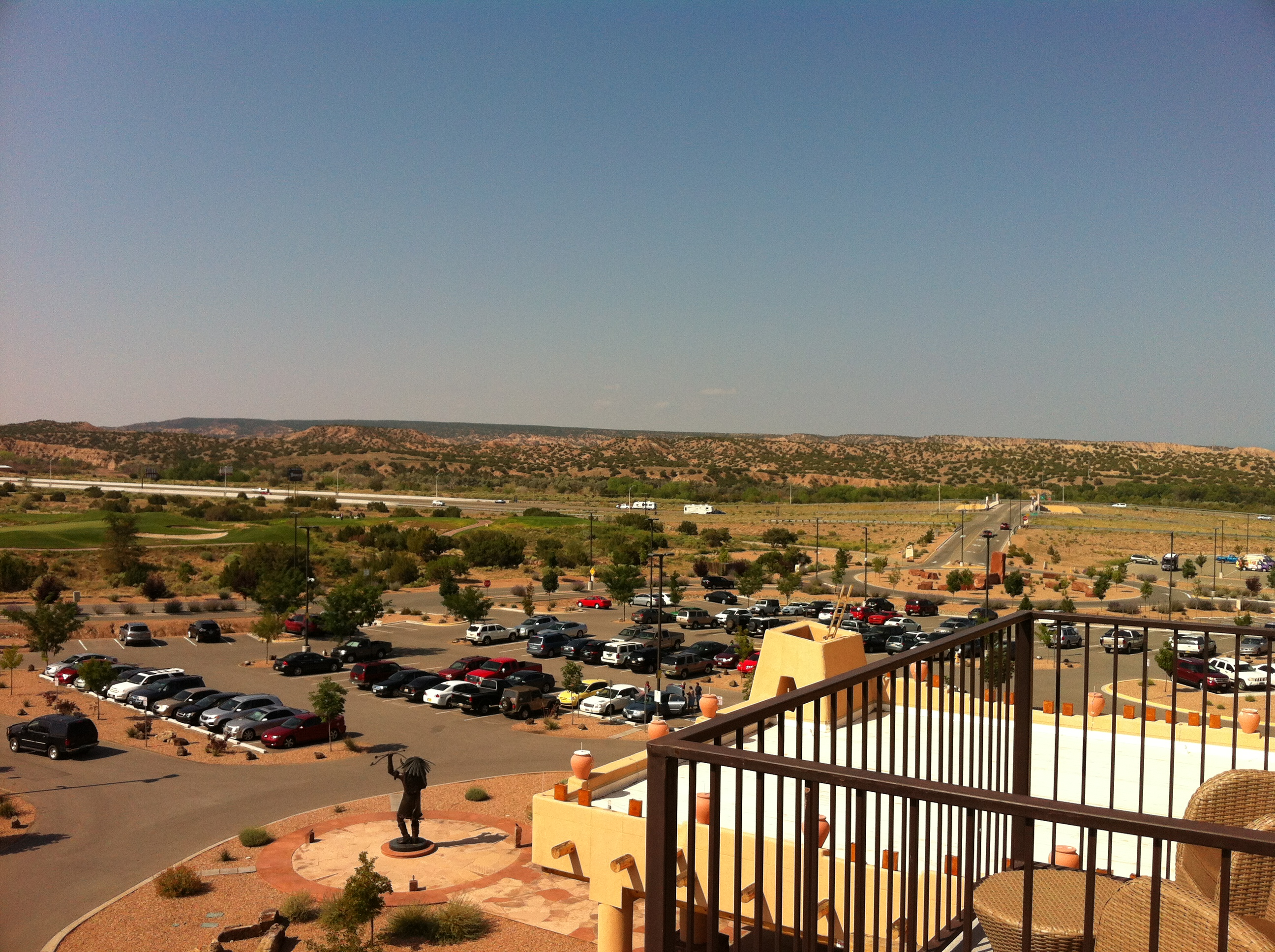 The Hilton Buffalo Thunder Resort and Casino Is My Home in Santa Fe ...