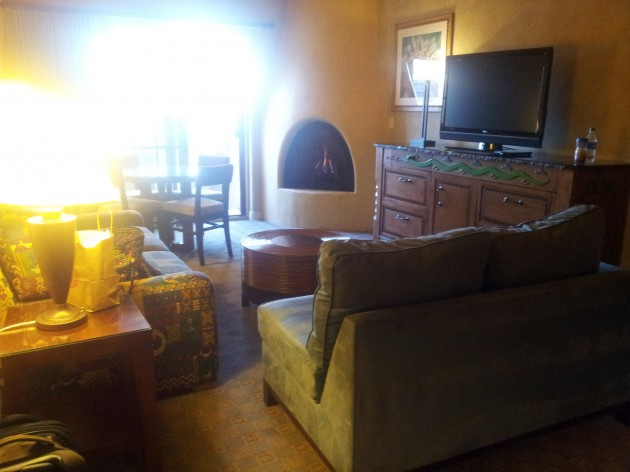 Living Room Suite Hilton Buffalo Thunder Resort Santa Fe New Mexico
