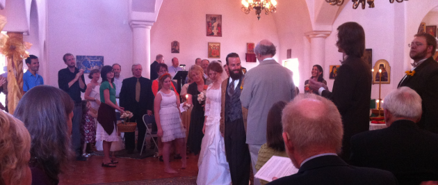 Molly Wedding Greek Orthodox Church Santa Fe New Mexico