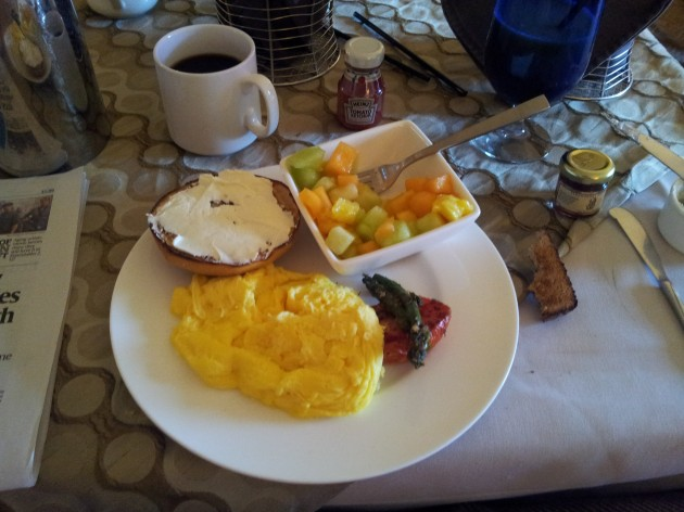My Favorite Breakfast in the Ritz Carlton in Denver Colorado