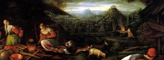 Noah After the Flood by Francesco Bassano