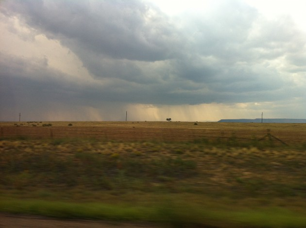 Rain in the Distance in Northern New Mexico