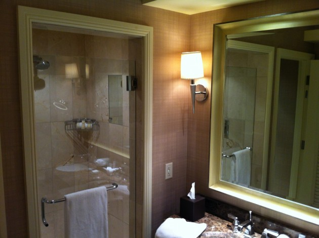 Ritz Carlton Denver Bathroom from Middle