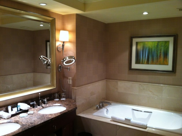 Ritz Carlton Denver Bathroom from Right