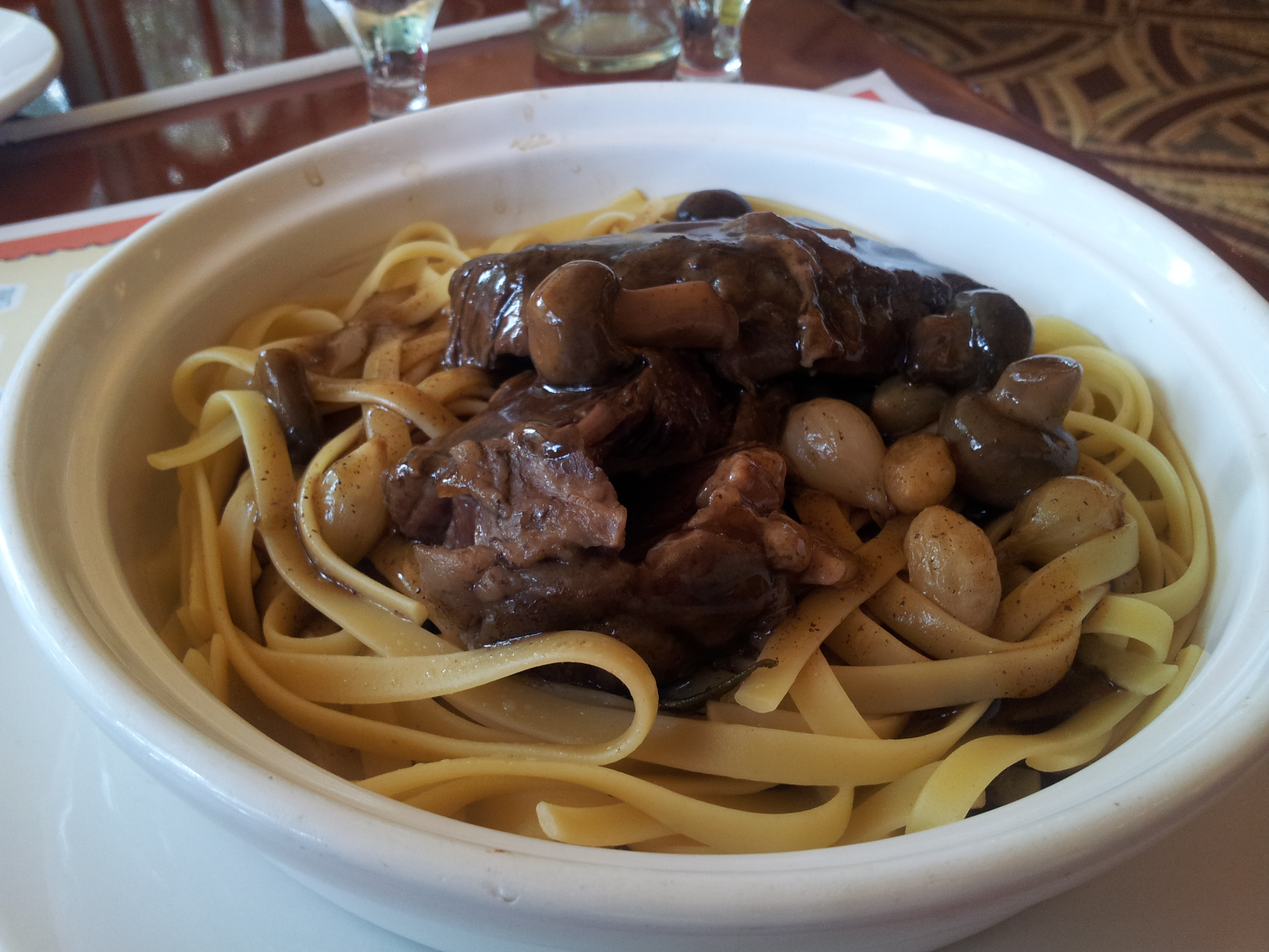 Beef Short Ribs and Pasta Les Chefs de France Walt Disney World
