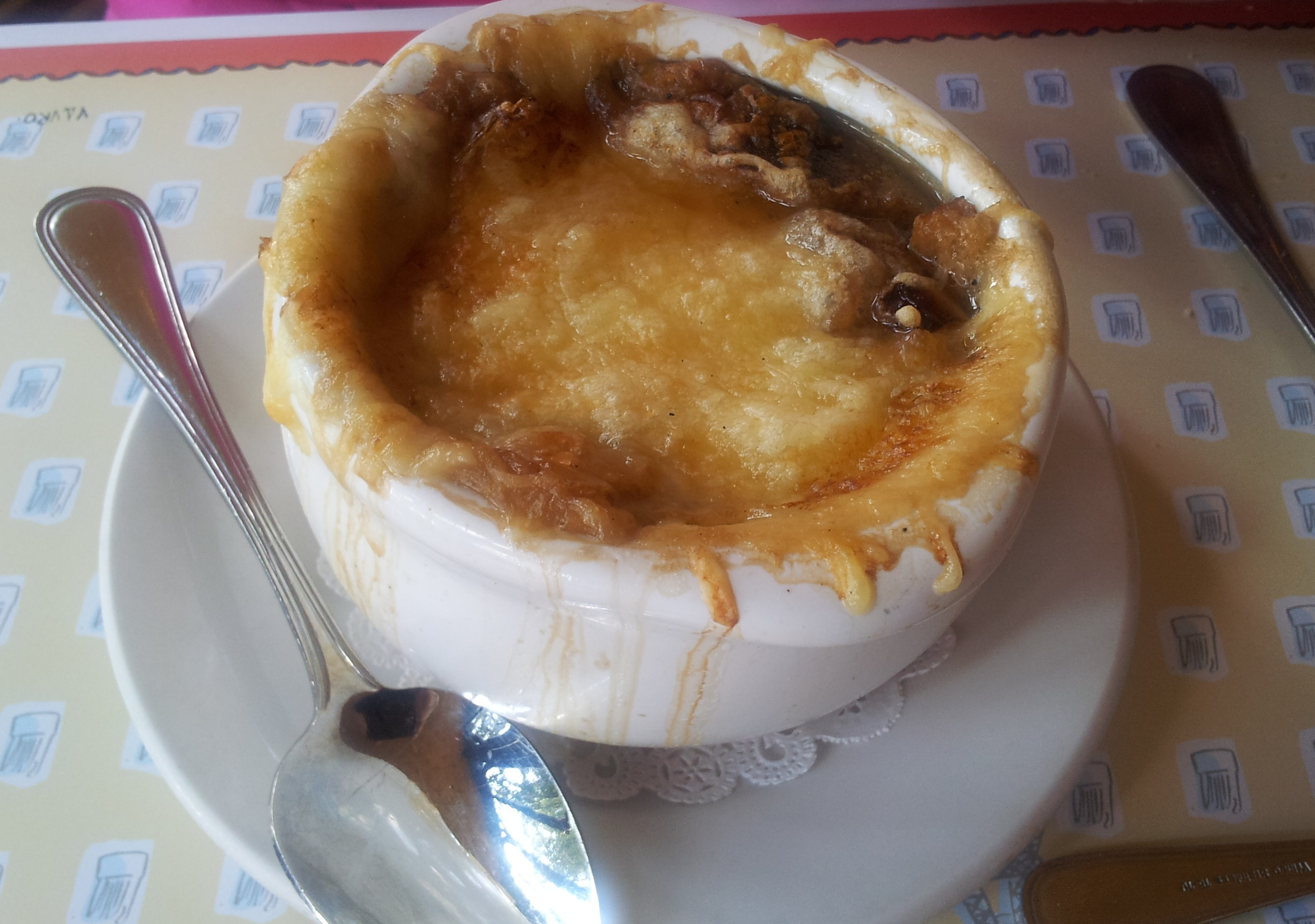 French Onion Soup Les Chefs de France Walt Disney World Epcot