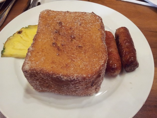 Plain Tonga Toast from Kona Kafe Polynesian Resort Walt Disney World