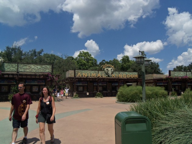 Walt Disney World Animal Kingdom Park Entrance