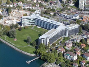 Nestle Headquarters Stock Investors from Google Earth