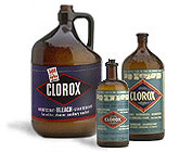 Old Clorox Bleach Bottles