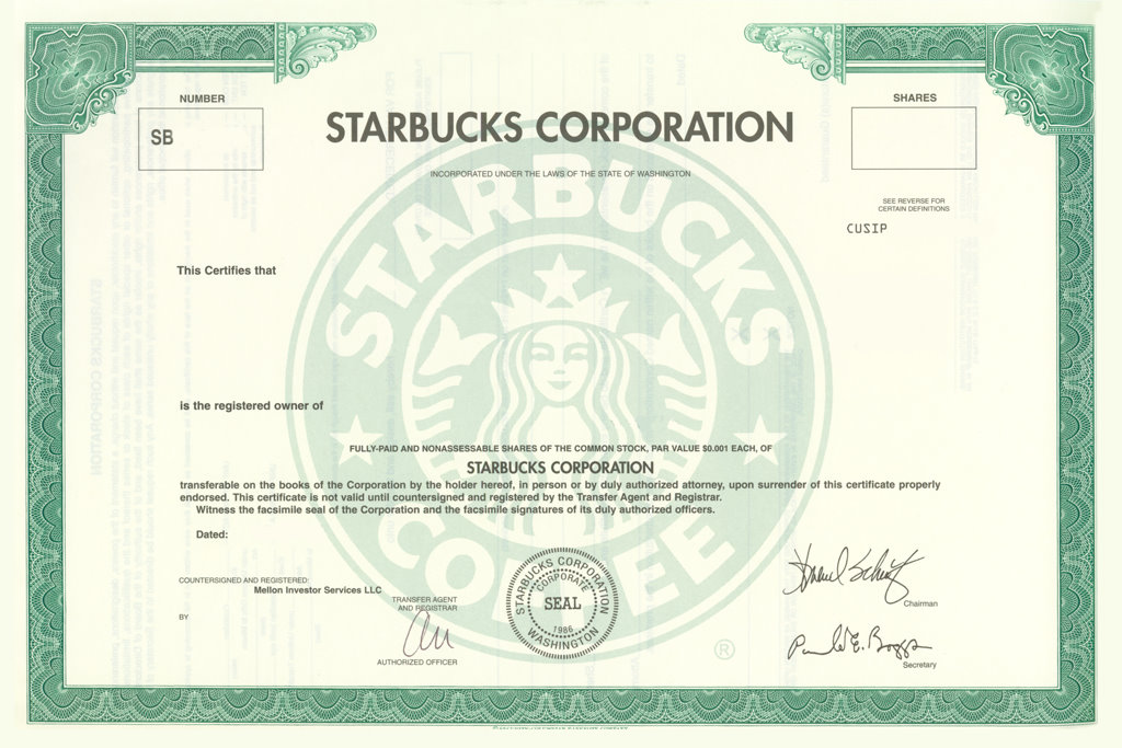 a 20 year case study of an investment in the starbucks ipo