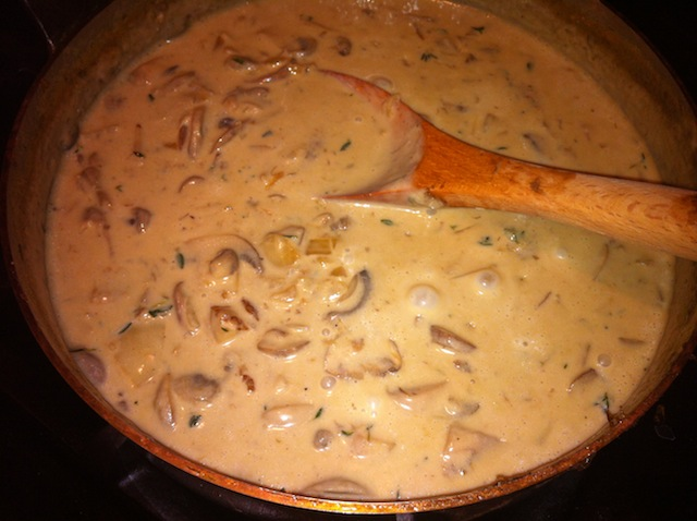 Cream of Mushroom Base for Green Bean Casserole Thanksgiving