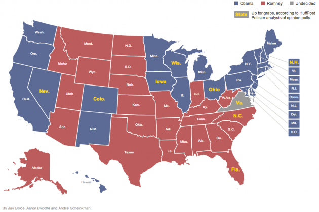 Final Geographic Polls Presidential Election Estimates
