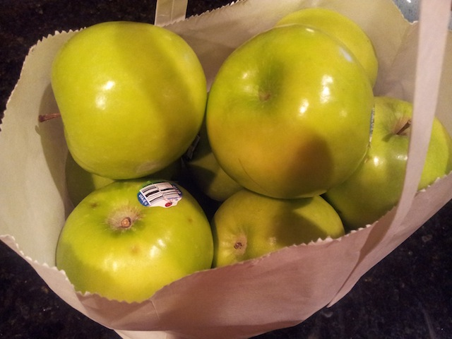 Granny Smith Apples for Pie