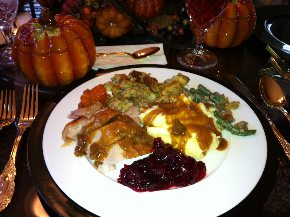 My Thanksgiving Plate Joshua Kennon