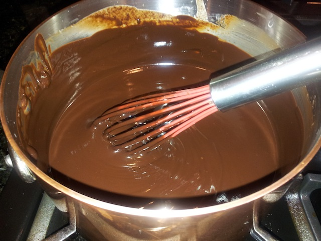 Chocolate Frosting Melting